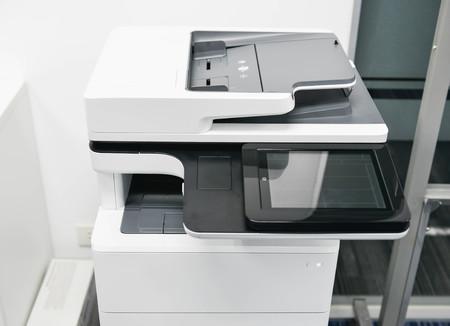 Modern of multifunction laser printer Lizenzfreie Bilder