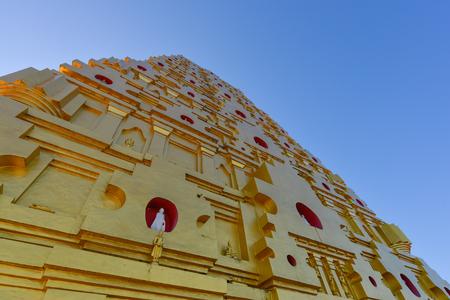 Puttakaya pagoda at Sangklaburi in Thailand