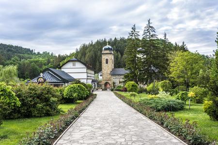 st nicholas: Photographed Orthodox Monastery of St. Nicholas on Mount Ozren in Bosnia and Herzegovina older than four centuries.