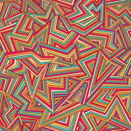 Seamless abstrait couleur Vecteurs