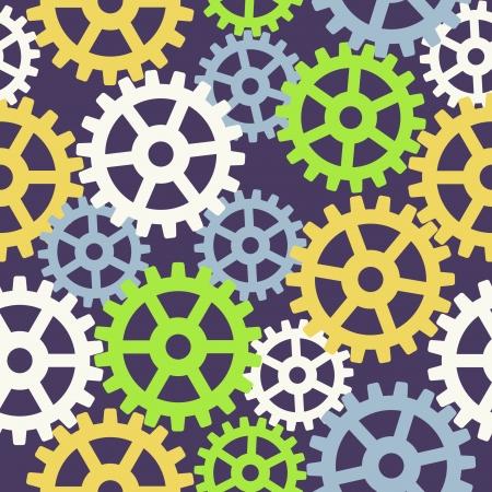 functionality: Seamless gear pattern