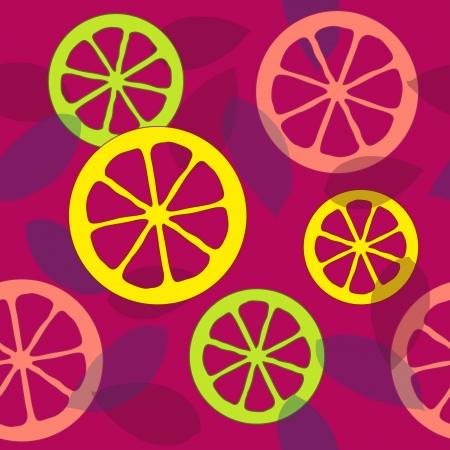 grapefruit juice: Seamless citrus pattern