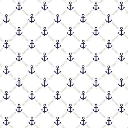 ancre marine: Réseau d'ancrage vecteur