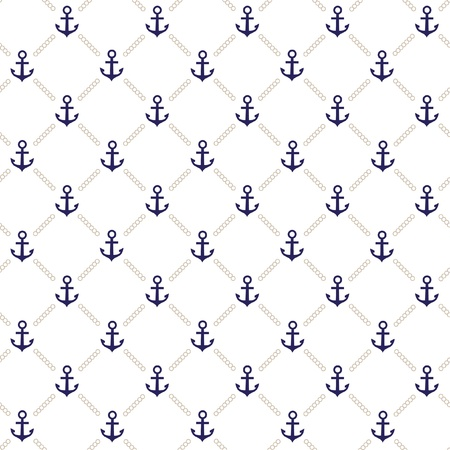 paper chain: Vector anchor pattern