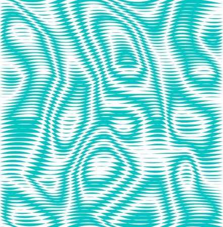 wave pattern: Green illusion  background Illustration