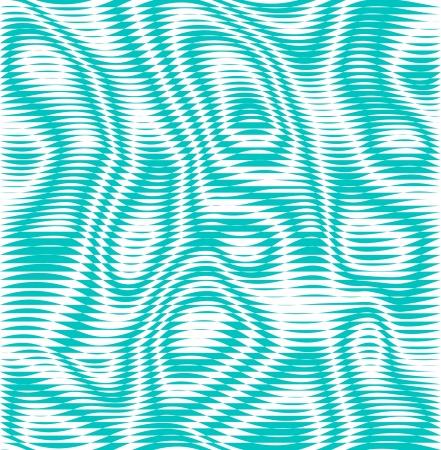 rough sea: Green illusion  background Illustration