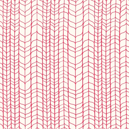 Wicker red texture  Seamless pattern Vector