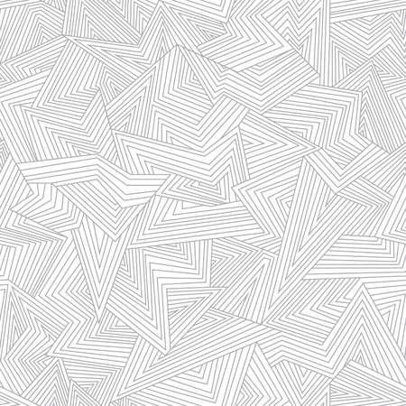geometric: Seamless abstract pattern. Broken lines.