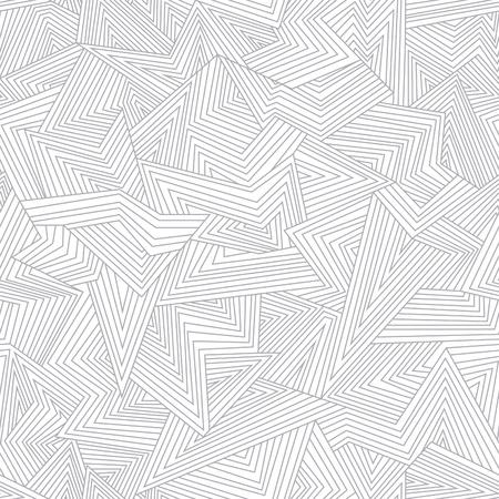 ligne: Seamless abstrait. Lignes bris�es. Illustration