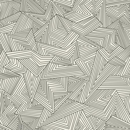 Seamless abstract pattern. Broken lines. Illustration