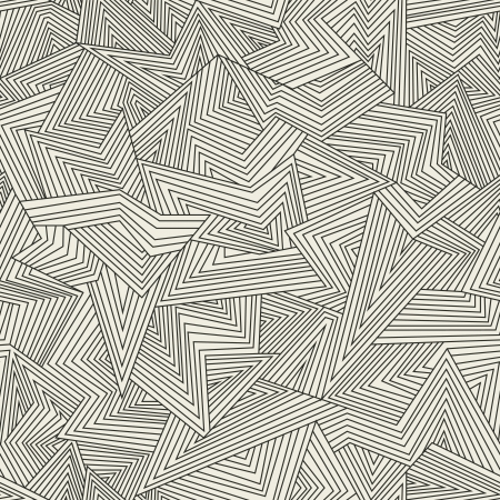 Seamless abstract pattern. Broken lines. Vector