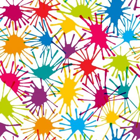 Kolor plamy Jednolite tło abstrakcyjny wzór Ilustracja