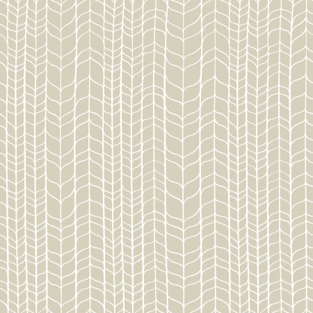 Seamless light hand drawn whicker pattern illustration Vector