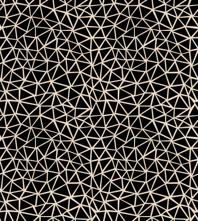 Seamless pattern with black triangles