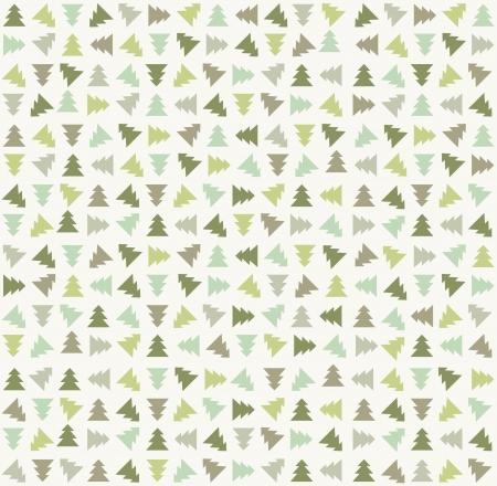 Stylowy kolor choinki wzór ilustracji wektorowych Ilustracja
