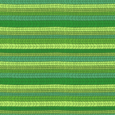 Seamless wicker pattern in green colors.  Vector
