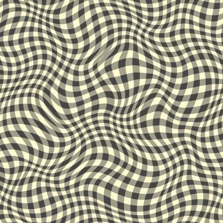 Seamless abstract black plaid pattern.