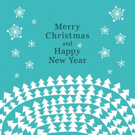 Creative and stylish Christmas card. Stock Vector - 15796197