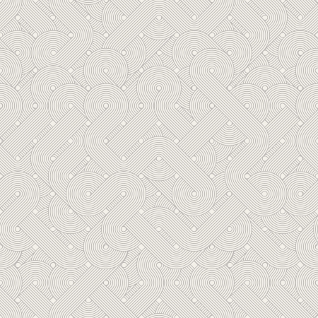 Seamless abstract pattern  Twisted lines  Vector illustration Vector