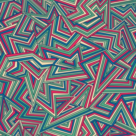 Seamless abstract color geometric pattern   illustration