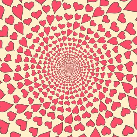 abstrakcyjne tła z serca