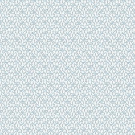 Abstrakcyjna bez szwu niebieski wzór z kręconymi linii ilustracji wektorowych