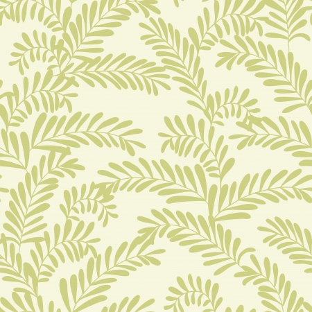 Beautiful seamless pattern with olive branches Vector