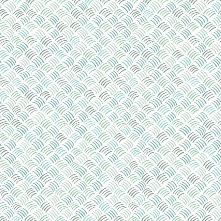 Seamless abstract hand drawn pattern in blue colors  Vector