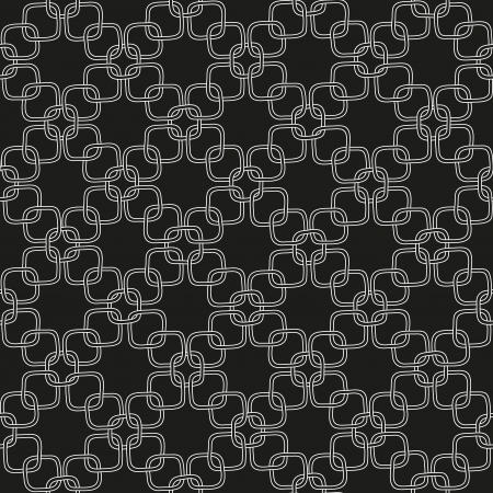 Seamless hand drawn pattern with chains Stock Photo - 18534609