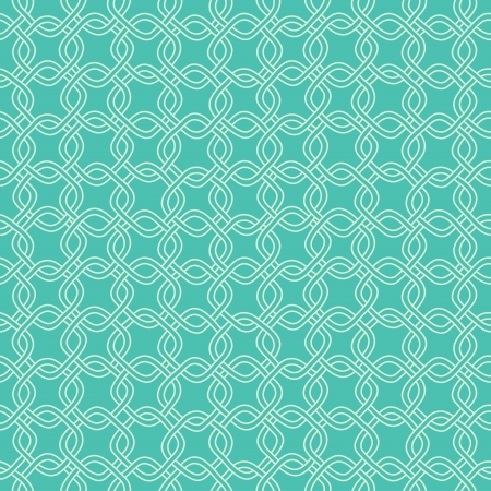 Seamless hand drawn pattern with chains  Vector Stok Fotoğraf