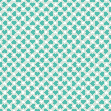 Seamless beautiful pattern with hearts  Vector illustration Vector