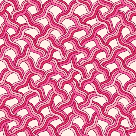 Seamless abstract hand drawn pattern  Vector illustration