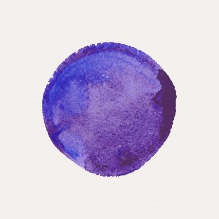 Beautiful stylish watercolor design element illustration