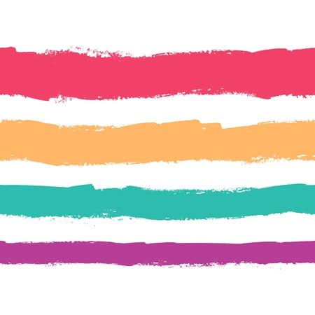 Seamless grunge color stripes. Elements for design