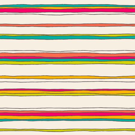 rayas de colores: Seamless patrón de color abstracta