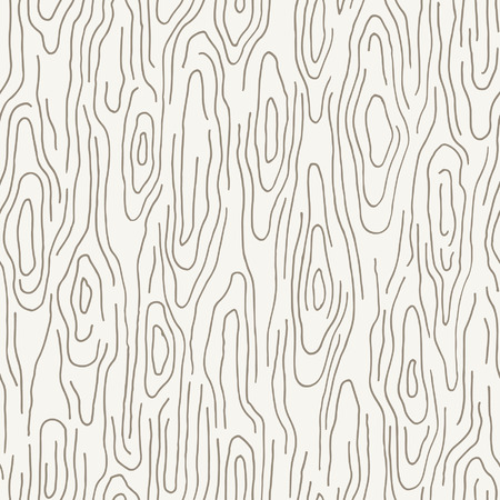 Seamless hand drawn wood texture Stock Illustratie