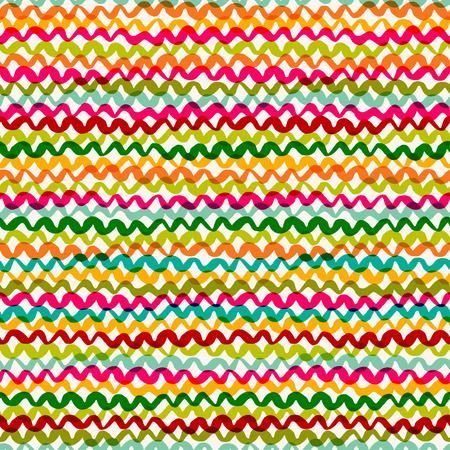 waves pattern: Seamless abstract pattern. Color waves