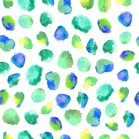 abstract seamless: Seamless abstract watercolor pattern