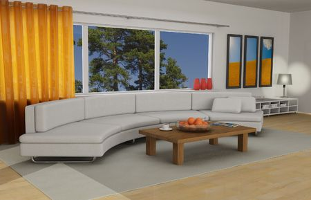 Livingroom interior Stock Photo - 4824032