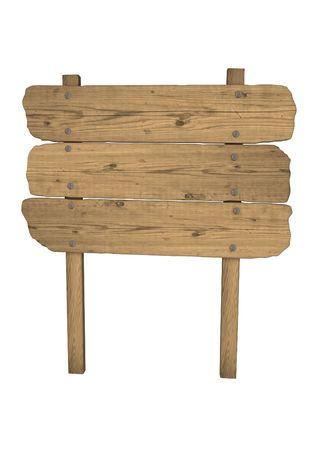 letreros: madera vieja meteorizado signo Foto de archivo
