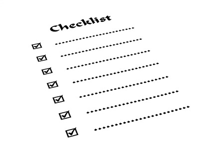 thoughtless: checklist