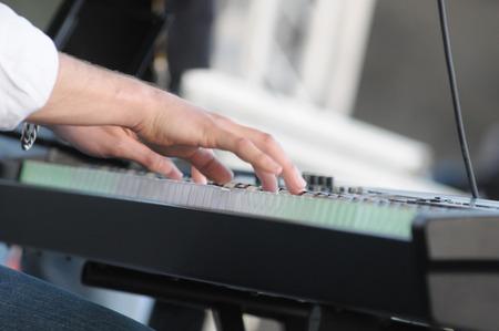 pianoforte: playing the piano
