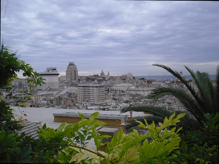 panorama of Genoa