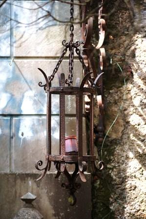 ornamental funeral lamp Banco de Imagens