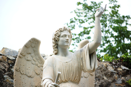 angel of the Annunciation Stock Photo