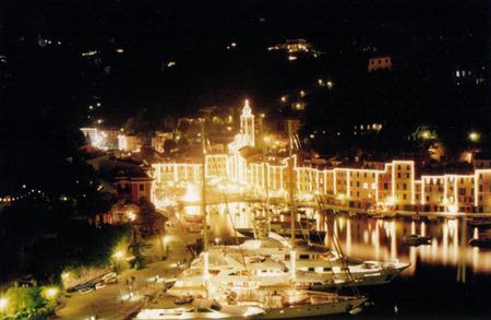 panoramic view of Portofino