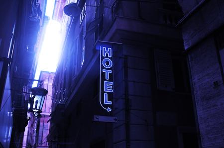 alley of Genoa; Liguria, Italy
