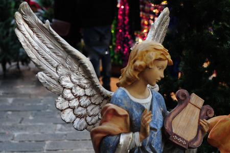 statues of the nativity scene