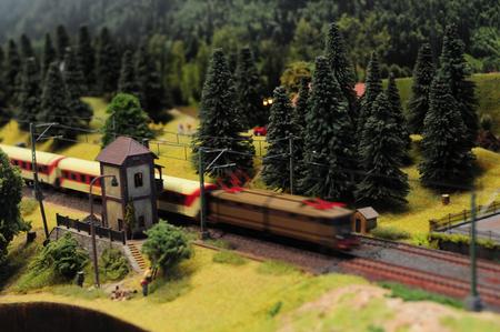 toy trains Banco de Imagens