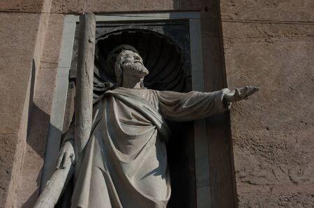 statue de Saint André l'Apôtre à Gênes